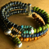Unusual design, full of color and contrast by Gloria Ewing.