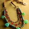 Boho southwest necklace design by Gloria Ewing