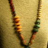 Vintage trade bead necklace by Gloria Ewing.