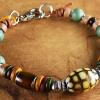 In the Mood beaded bracelet by Gloria Ewing.