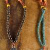 Unique design featuring a southwestern cross pendant by Gloria Ewing.