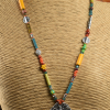 Affordable teen beaded necklace by Gloria Ewing.