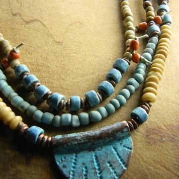 Paradise Beach Choker Necklace