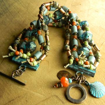 Five Strand Paradise Beach Bracelet