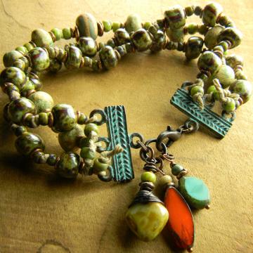 Three Strand Knotted Bracelet