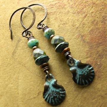 Mykonos Shell Earrings
