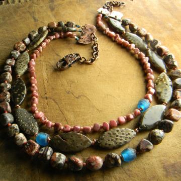 Joshua Tree Multi-Strand Necklace